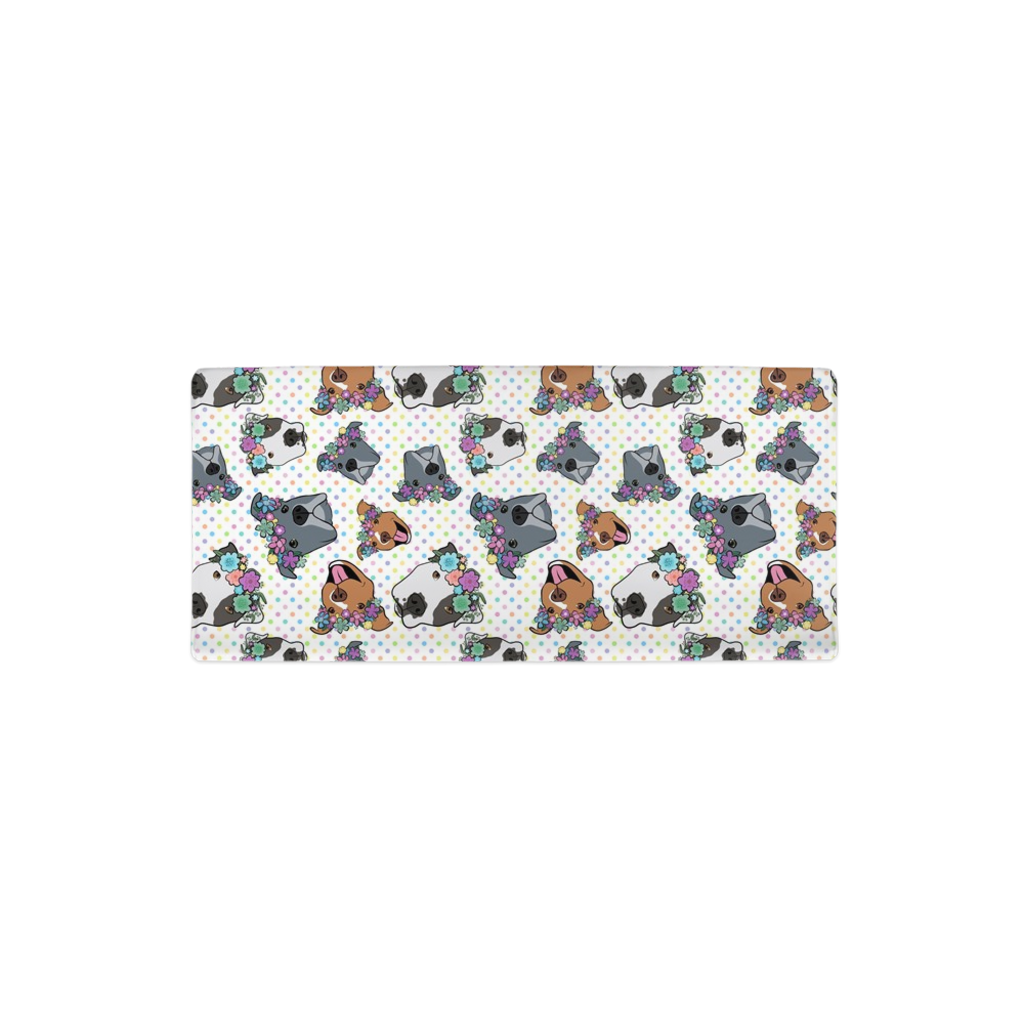 Polka Pitty Pitbull Changing Pad Cover