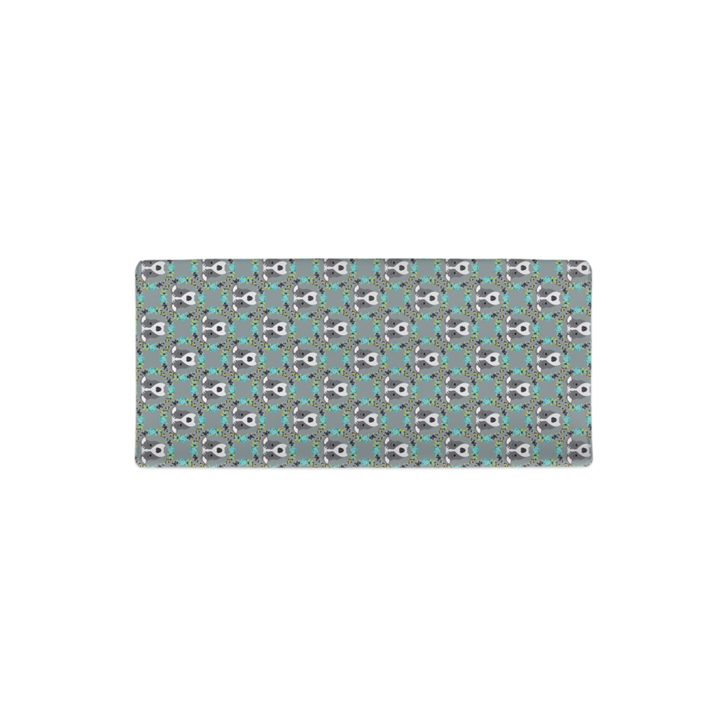 Floral Pitbull Changing Pad Cover
