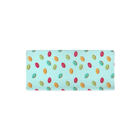 Light Blue Donut Changing Pad Cover