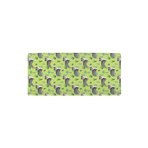 Australian Shepherd & Succulents Changing Pad Cover