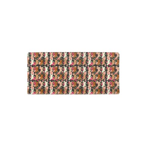 Floral Golden Retriever Changing Pad Cover