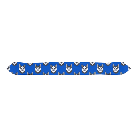 Cobalt Blue Husky Infant & Toddler Top Knot Headband