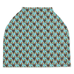 Miniature Pinscher Min Pin Aqua Car Seat / Nursing Cover