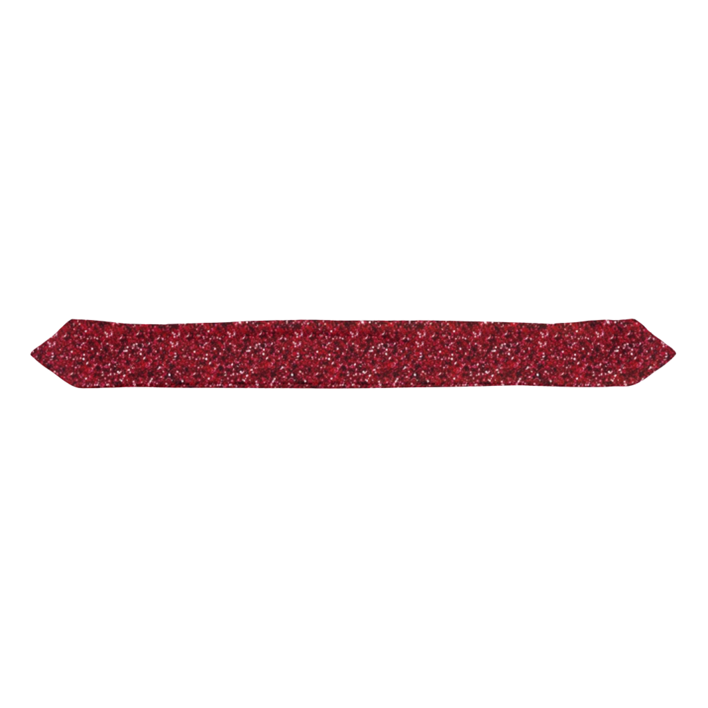 Red Glitter  Infant & Toddler Top Knot Headband
