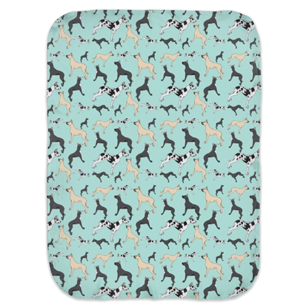 Great Dane Ultra Soft Jersey Knit Swaddle Blankets