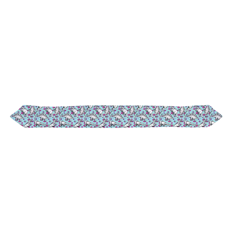 Floral Dinosaur Infant & Toddler Top Knot Headband
