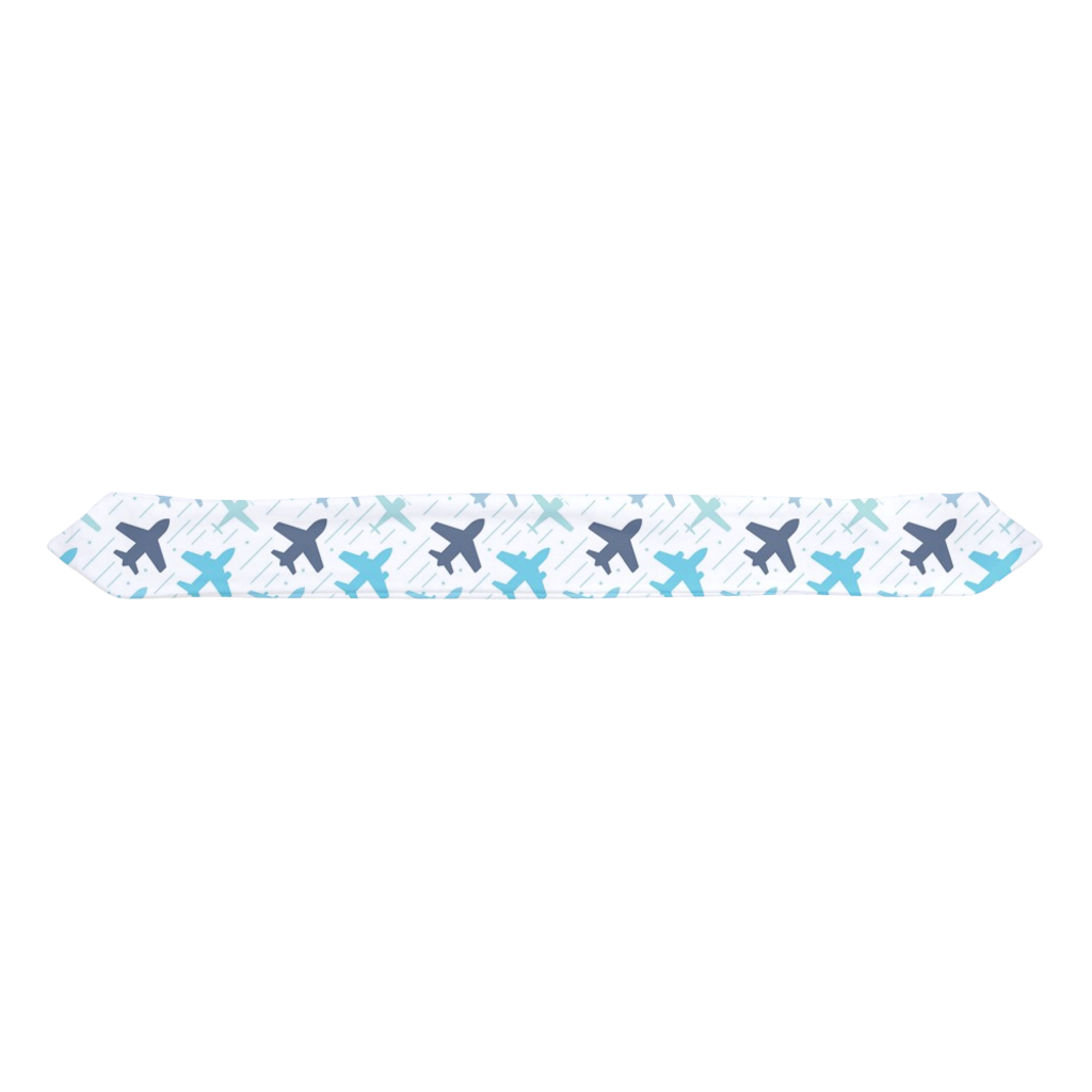 Airplane Infant & Toddler Top Knot Headband