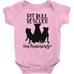 Pitbull Rescuer In Training Infant Bodysuit