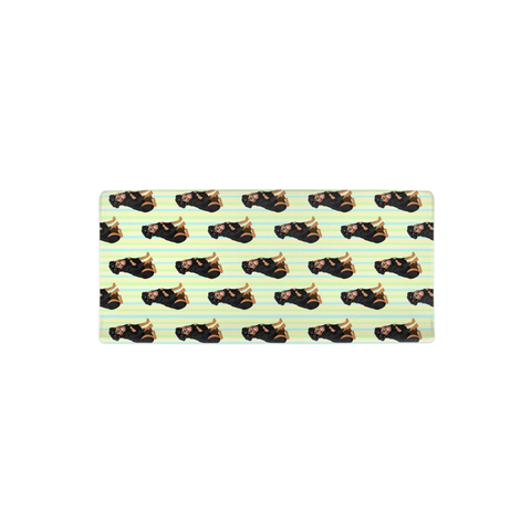 Rottweiler Striped  Changing Pad Cover