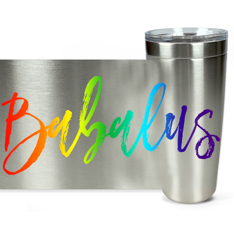 Babalus Travel Mug Rainbow
