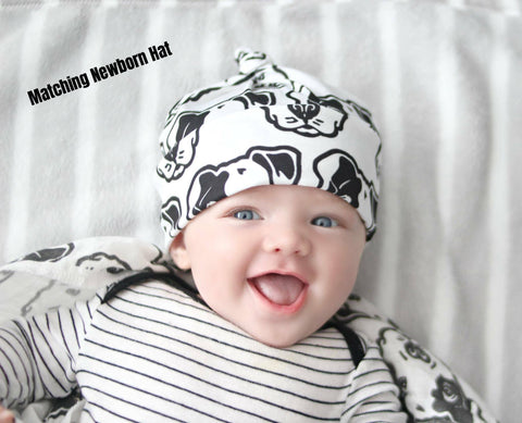 Handmade Newborn Hats - Custom Made to Order - Matching Newborn Hat - Baby Gift - Newborn Baby Hats - Newborn Baby Gift Set - Baby Hats
