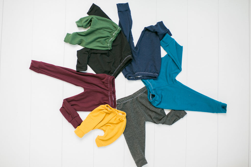 Children's Babalus Basics - Ultra Soft - Solid Colored Leggings