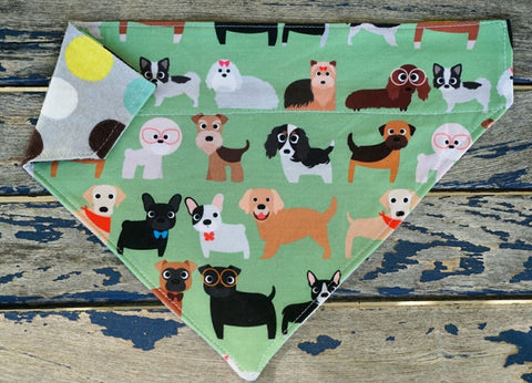 Love Puppies Bandana