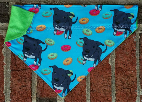 Dori Pitbull and Donuts Bandana