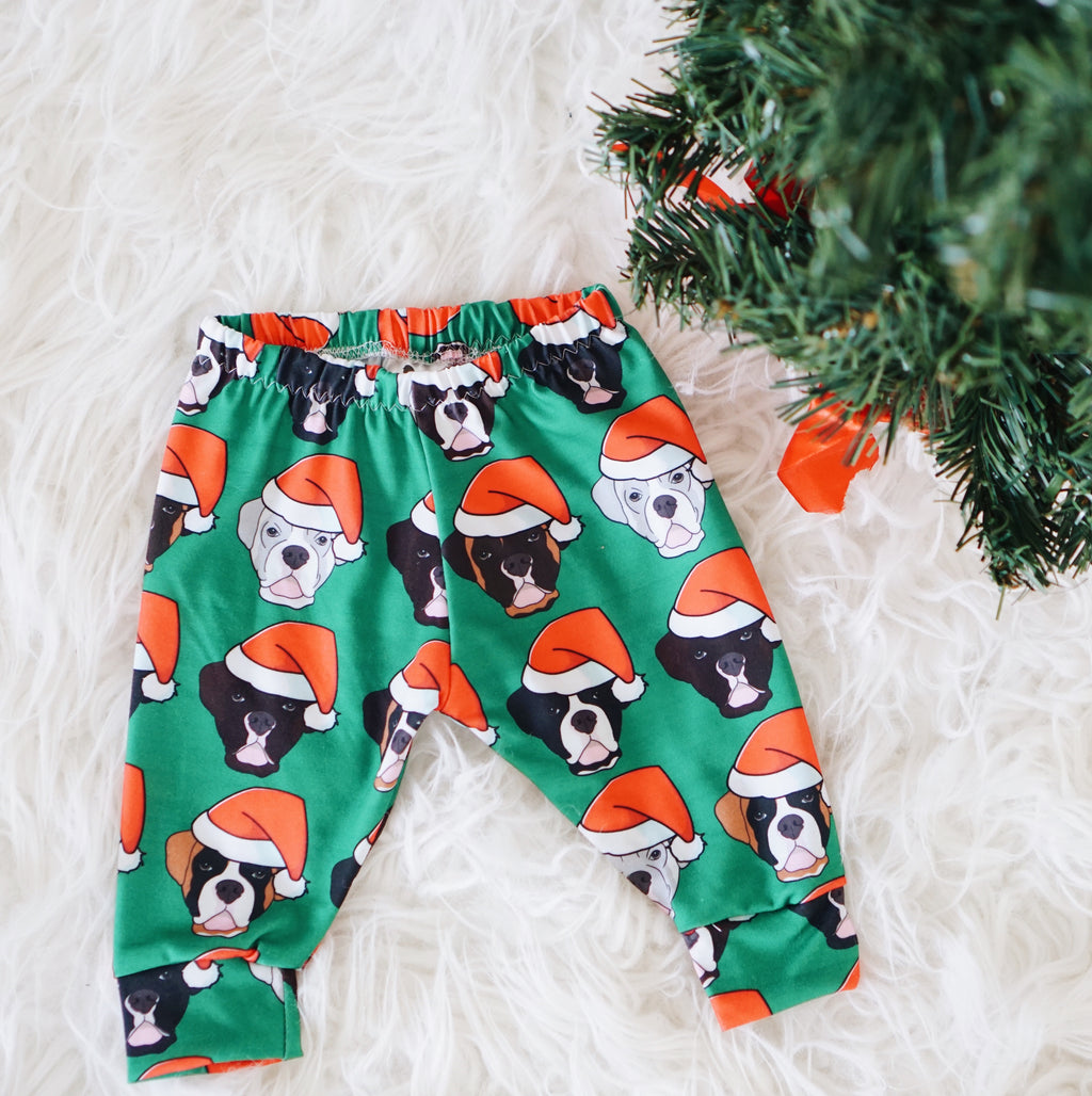 Christmas Boxer Leggings