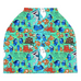 Keep Swimming Car Seat / Nursing Cover
