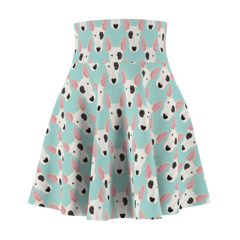 Bull Terrier Women's Skater Skirt