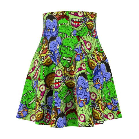 Movie Monster Women's Skater Skirt