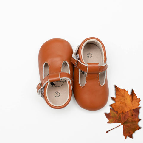 Persimmon Babalus Shoes T-Strap