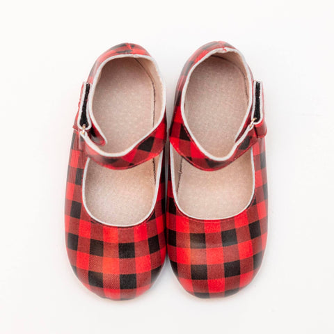 Buffalo Plaid Babalus Flats