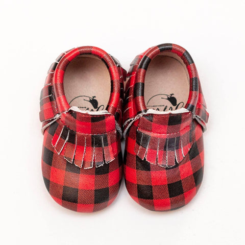 Buffalo Plaid Moccasins Preorder