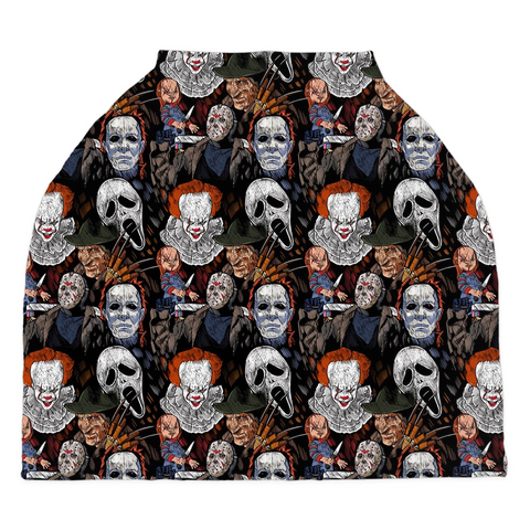 Scary Dudes Car Seat Covers