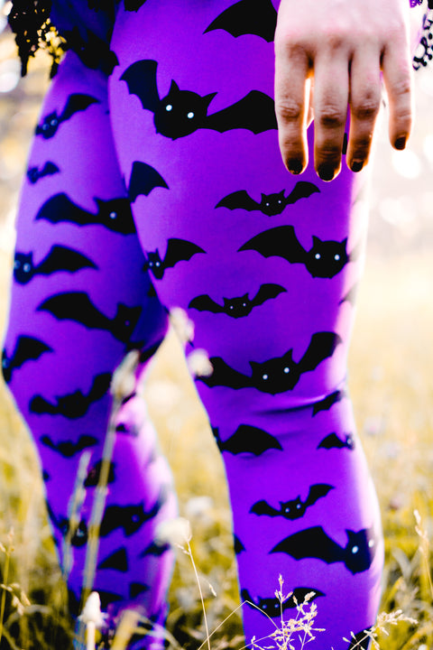 Halloween Bat Women's Leggings