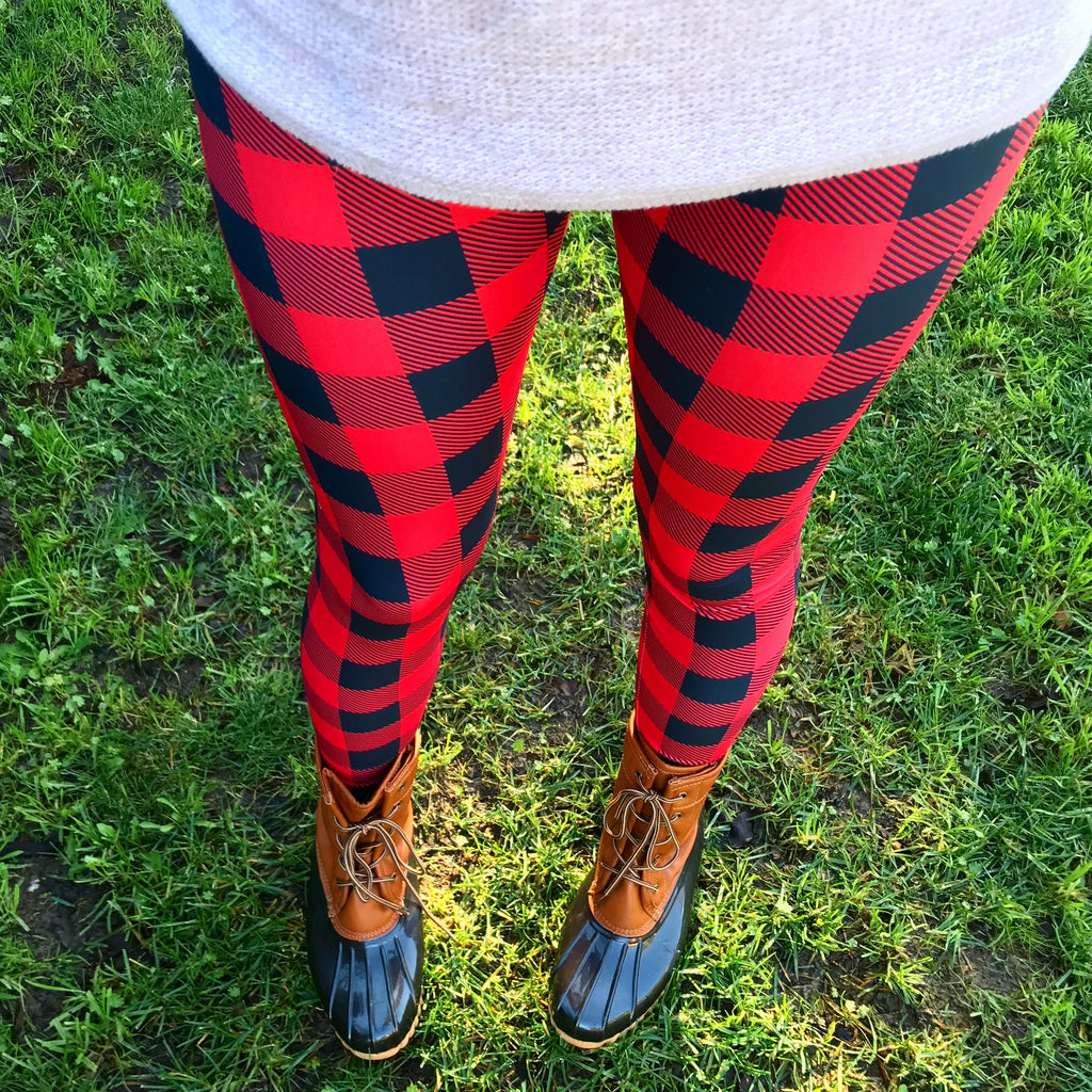 Buffalo Plaid Women's Leggings