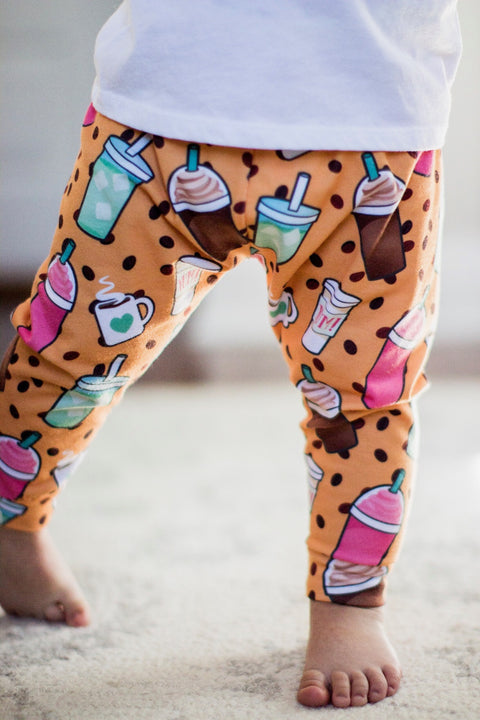 Coffee Print Leggings