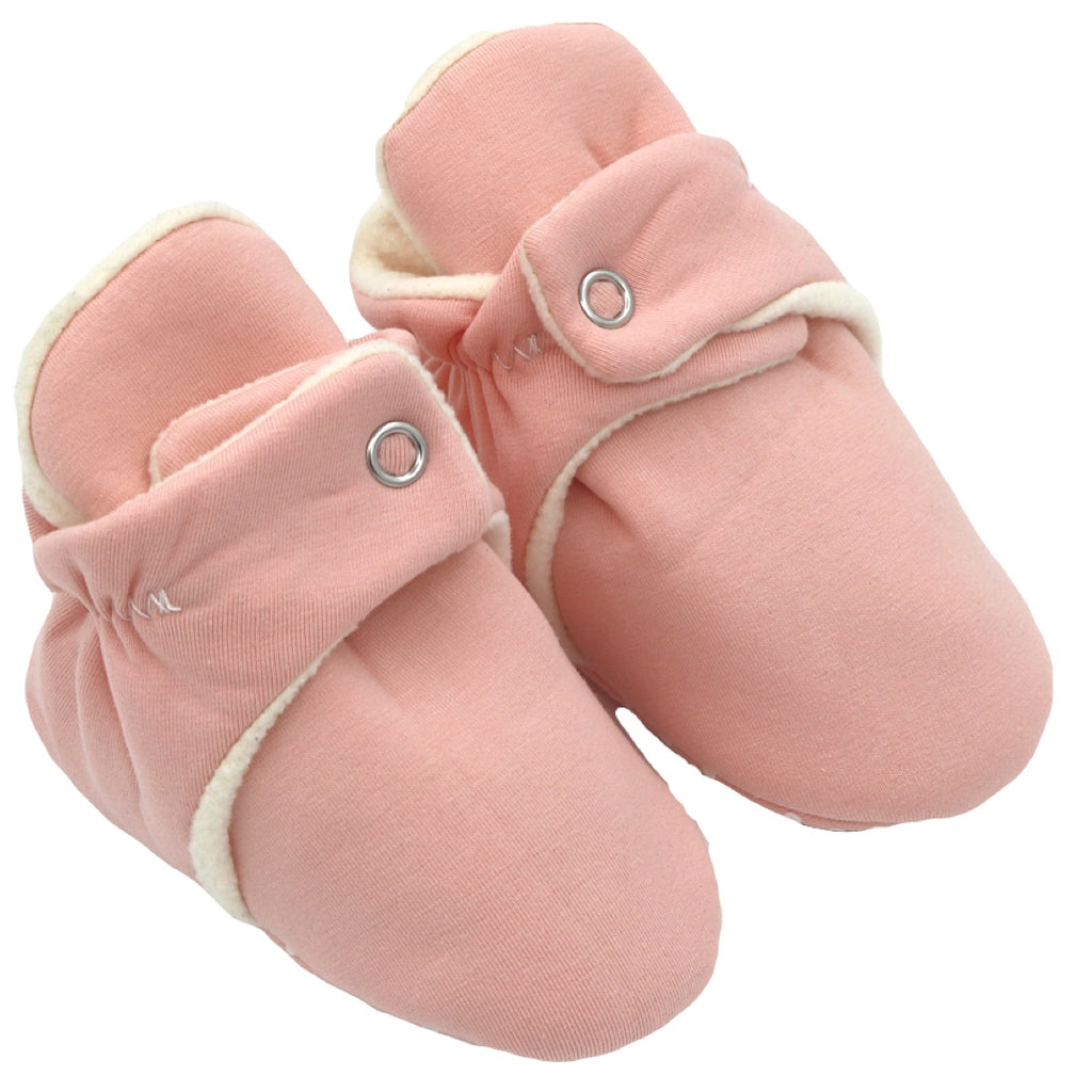 Baby Pink Babalus Booties