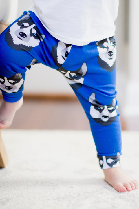 Husky Print Leggings