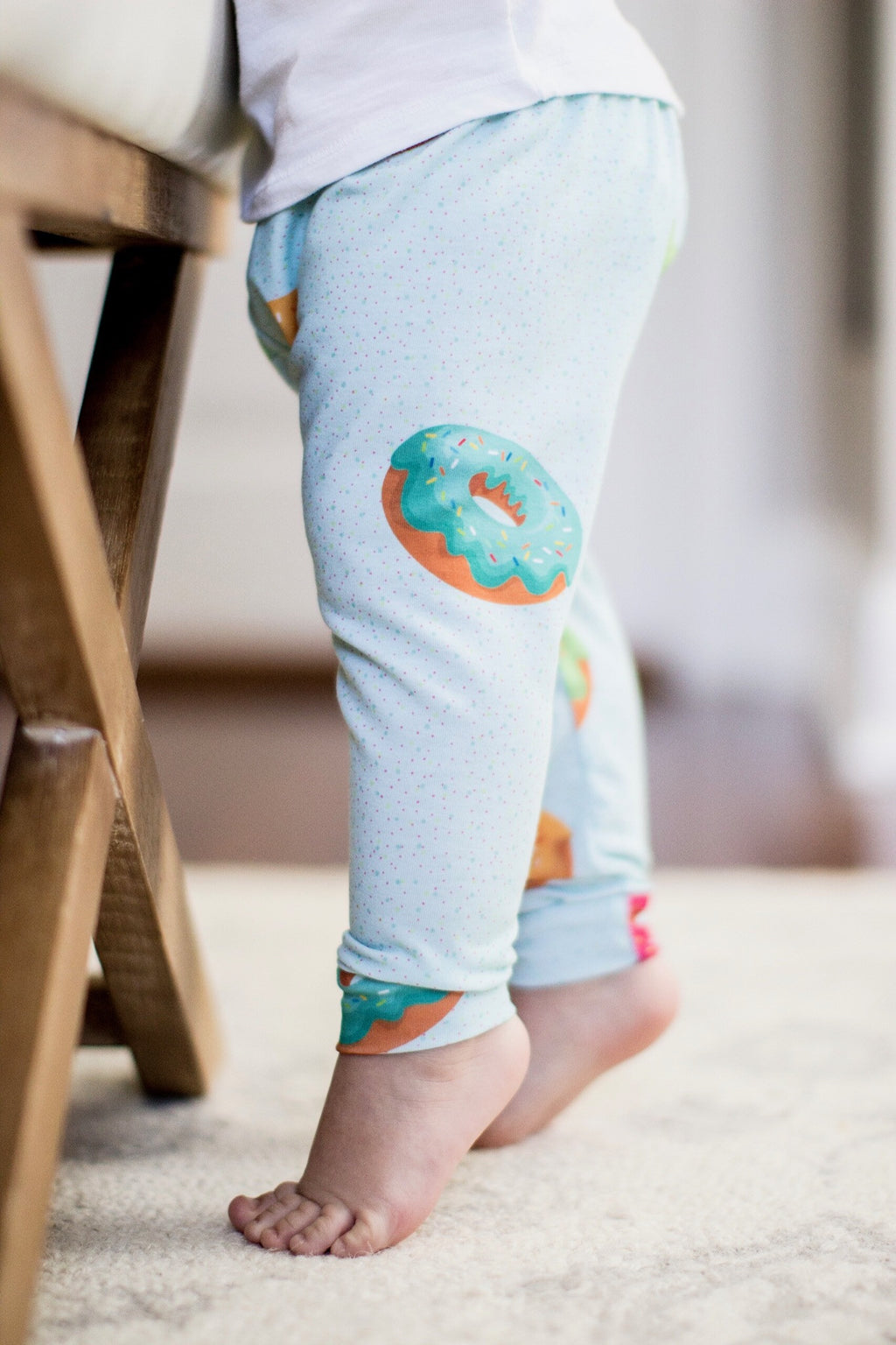 Donut Print Leggings