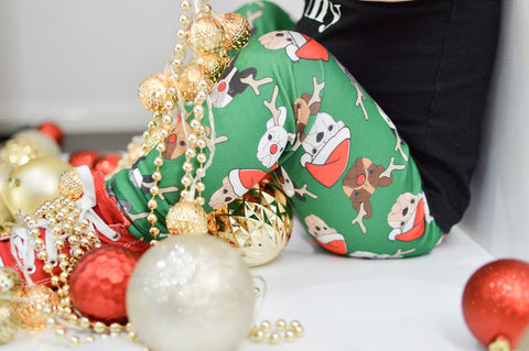 Christmas French Bulldog Leggings