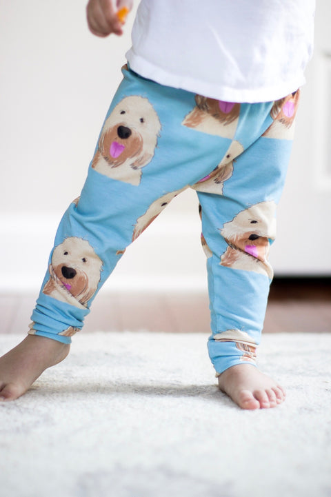 Goldendoodle / Wheaten Terrier Leggings