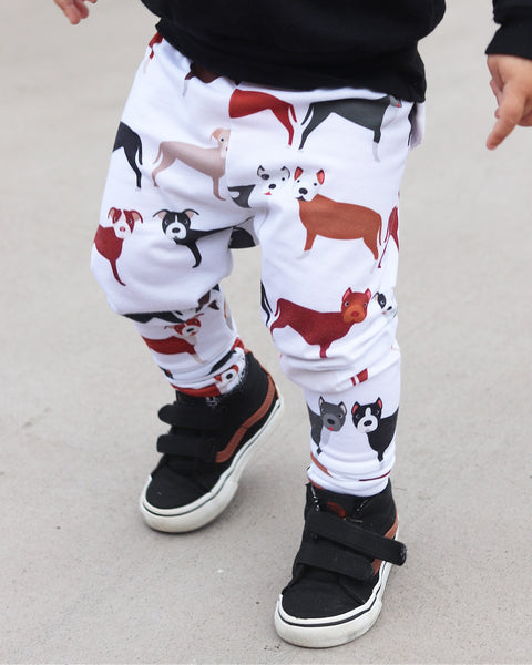 Pitbull Print Leggings