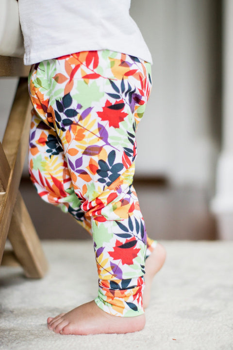 Fall Leaves Leggings