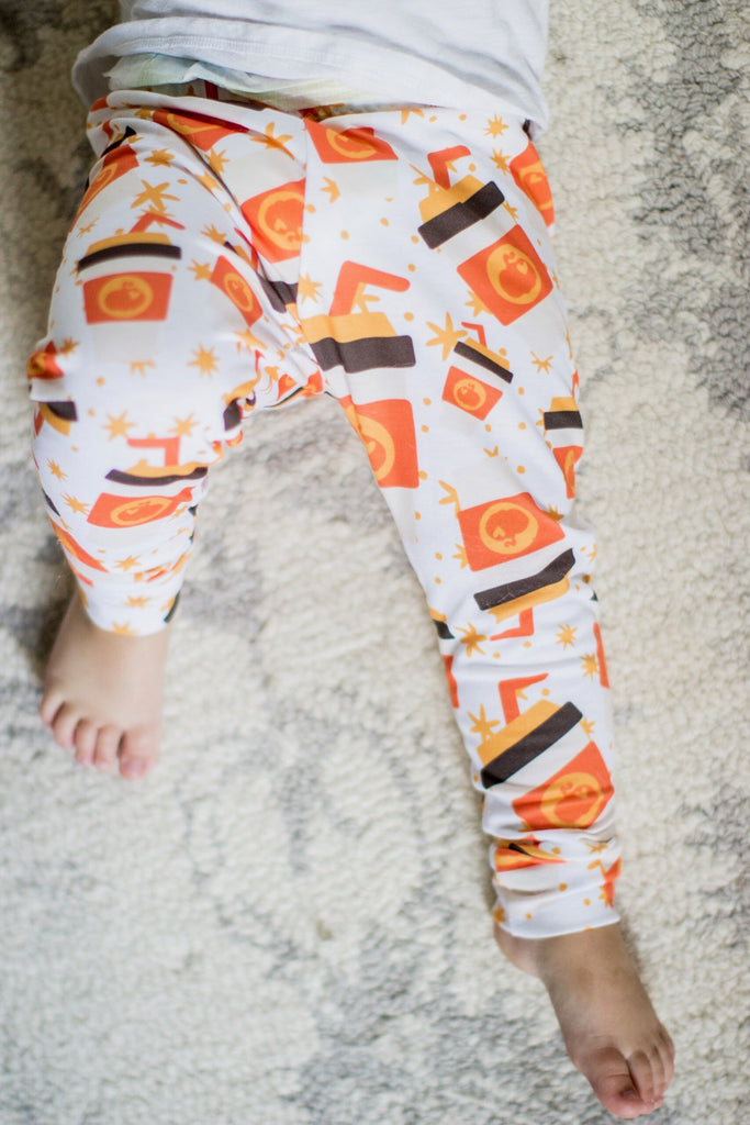 Fall Pumpkin Spice Latte Leggings