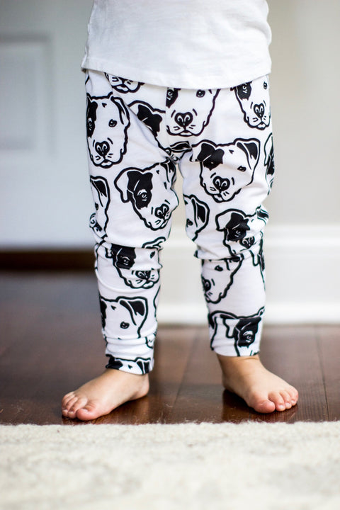 READY TO SHIP - Pitbull Face Leggings