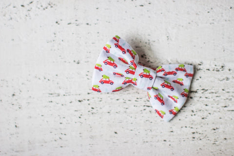 Christmas Vacation Organic Cotton Hair Bow