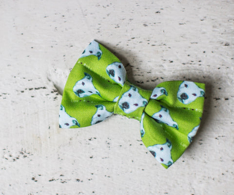 Pitbull LUV A BULL Organic Cotton Hair Bow