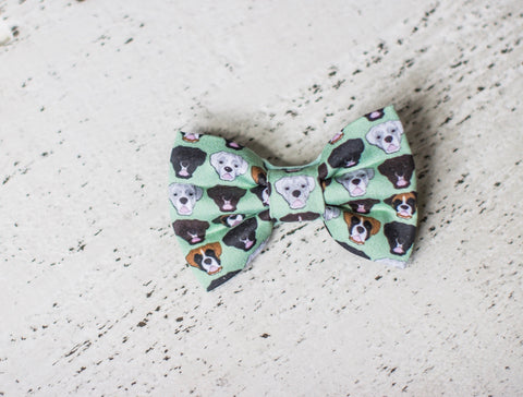 Boxer Organic Cotton Hair Bow