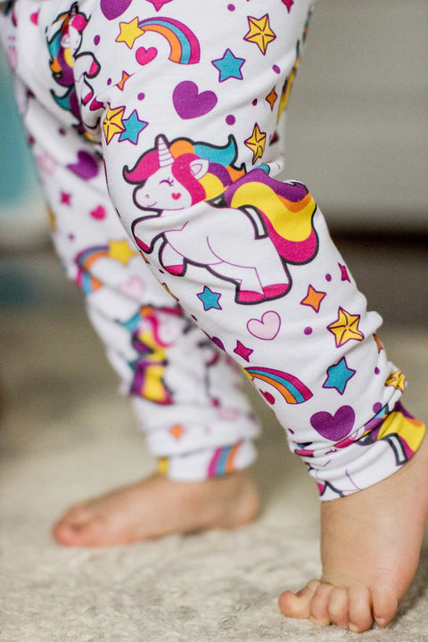 READY TO SHIP - Unicorn Leggings