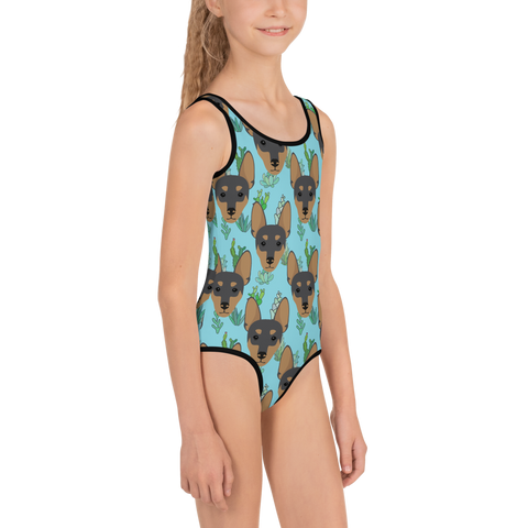 Miniature Pinscher Kids Swimsuit