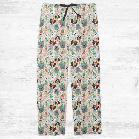 French Bulldog Party Adult Pajamas