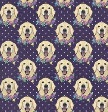 Floral Labrador Retriever Leggings