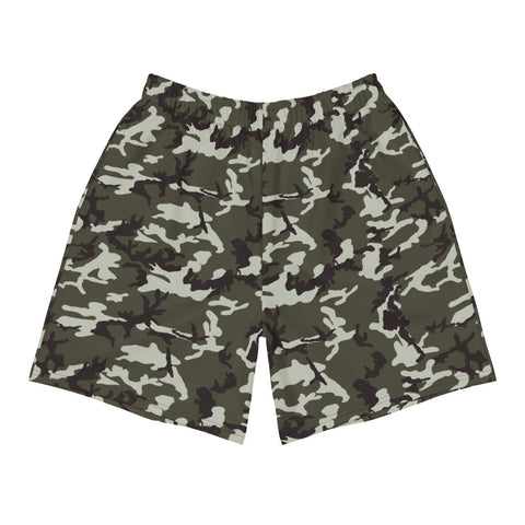 Camouflage Men's Athletic Long Shorts
