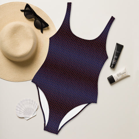 Dragon Scale Women's One-Piece Swimsuit