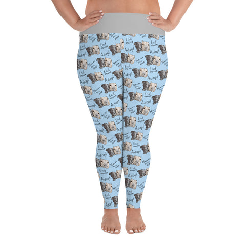 Stand Up For Pits Sally & Todd Plus Size Leggings