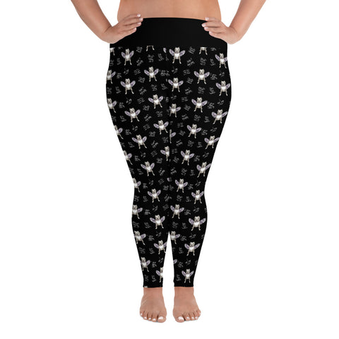 Stand Up For Pits Angel Plus Size Leggings