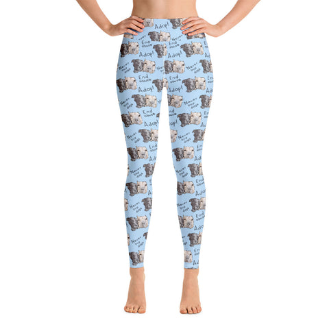 Stand Up For Pits Sally & Todd Yoga Leggings